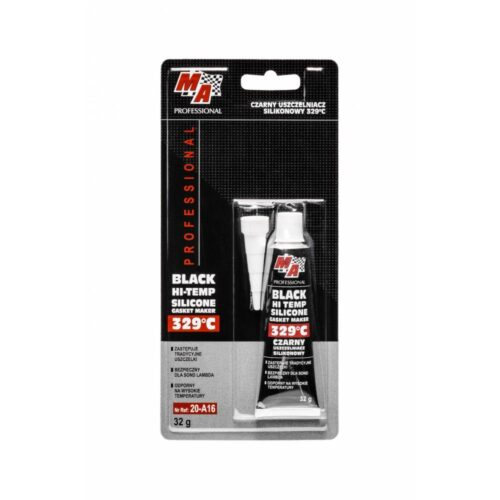 20-A16 20-A16 - MA PROFESSIONAL - Uszczelniacz Silikonowy Czarny 329°C